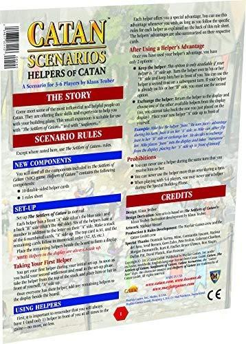 Catan Scenario: Helpers of Catan
