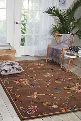 Nourison Julian (JL53) Mushroom Rectangle Area Rug, 5-Feet 3-Inches by 8-Feet 3-Inches (5'3