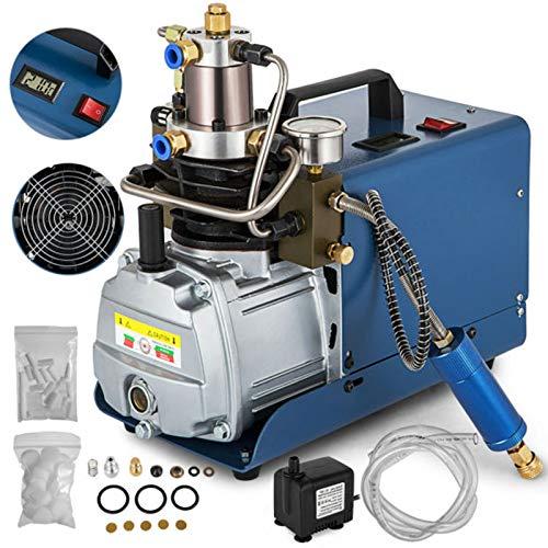 Happybuy 110V 30MPA High Pressure Air Pump Electric PCP Air Compressor for Airgun Rifle PCP Inflator (30MPA)