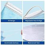 Medizinische-Gesichtsmaske-50-Stck-Medizinischer-Mund-und-Nasenschutz-Maske-Einweg-Maske-3-lagig-Elastischem-Ohrschlaufen-und-Nasenstreifen-Blue