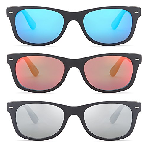 48e1ca5903c Gamma Ray Polarized UV400 Classic Style Sunglasses with Mirror - Import It  All