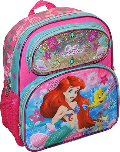 Disney Princess Little Mermaid Ariel Girl's Pink 12.5
