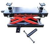 Redline RE_FJ 1,000 lb Motorcycle ATV Table Lift Mini Frame Scissor Jack