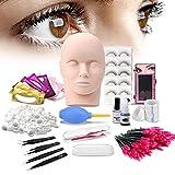 Best Eyelash Extension Kits - Lash Eyelash Extension Kit: Professional Mannequin Head Training Review