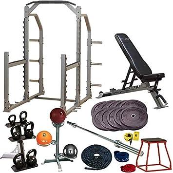 Body-Solid garaje gimnasio cross-training Studio Set - Paquete de oro