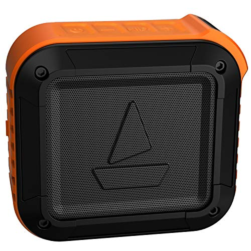 boAt Stone 200 Portable Wireless Speaker with 3W Sound, Robust Bass, Rugged Mountable Design, IPX6 Water & Splash Resistance and Up to 10H Playtime (Orange)