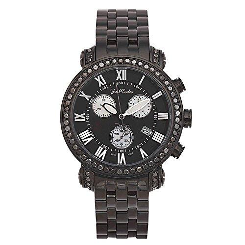 Joe Rodeo Diamond Men's Watch - CLASSIC black 6 ctw