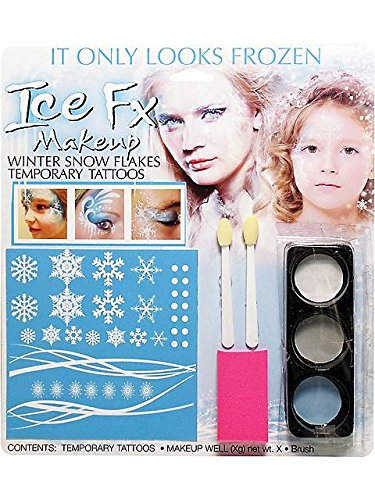 Winter Snowflake Makeup Kit