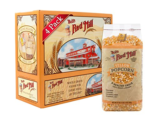 Bob's Red Mill Whole Yellow Popcorn, 27 Oz (4 Pack) -