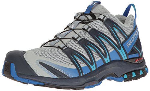 Salomon Mens Xa Pro 3d Largo Trail-runners Cava / Blu Nautico / Oceano Hawaiano