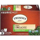 capsule filler machines - Twinings Organic Pure Green Tea, Keurig K-Cups, 12 Count (Packaging May Vary)