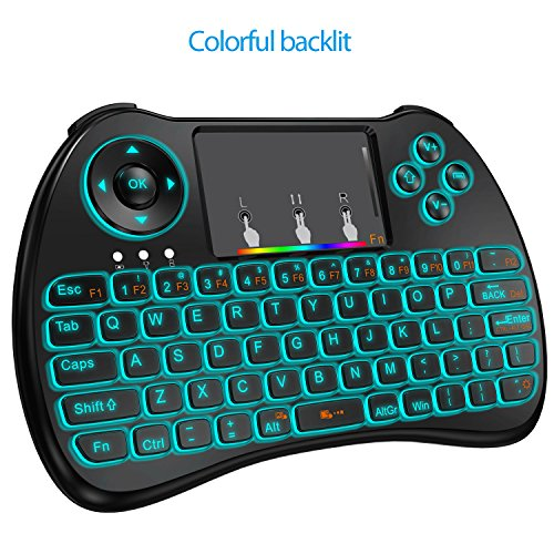 Globtronic KP-810-21Q-GEN-1 Wireless Mini Keyboard 2.4GHz Ba