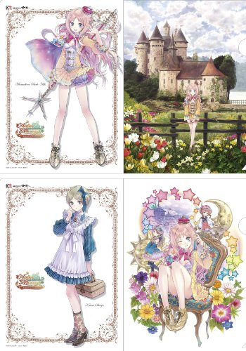 The Alchemist of Arland Series - Clear File Set [Rorona & Kaena]
