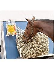 NRTFE Slow Feed Hay Net Bag Full Day Horse Feeding Large Feeder Bag with Small Holes