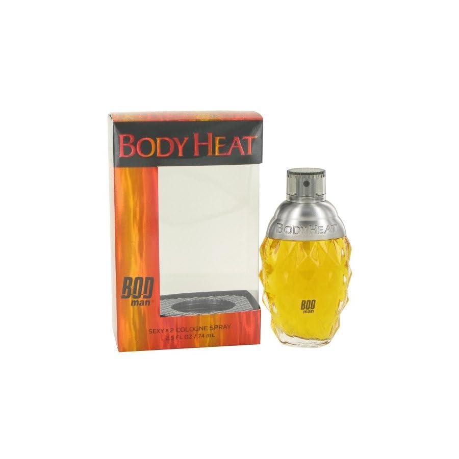 Bod Man Body Heat Sexy X2 by Parfums De Coeur Cologne Spray 2.5 oz