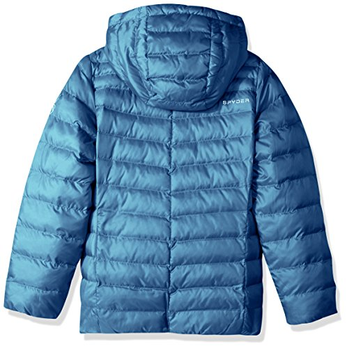 Blue French Down Jacket Hoody Girl's Timeless Spyder xzTUqYaw7T