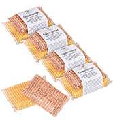 Redecker Copper Sponge, Set of 10, Includes 5 Large and 5 Medium Copper Fiber Sponges, Durable No...