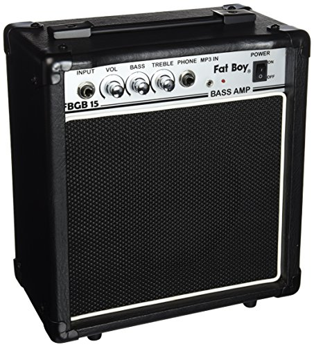 Fat Boy FBGB15 15 Watt Bass Amp (Bass Fat)