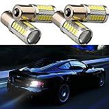 Grandview 4 x 1156 BA15S 1141 5730 33-SMD White 900 Lumens 8000K Super Bright LED Turn Tail Brake Stop Signal Light Lamp Bulb 12V