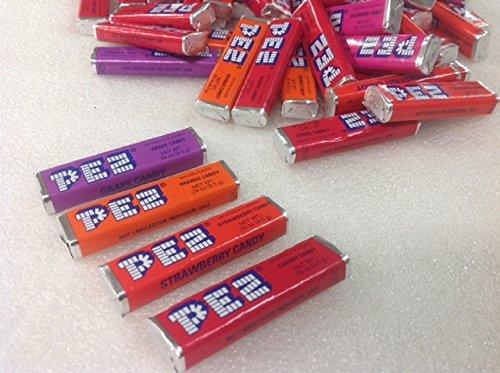 Pez Candy Refills Pez Rolls Assorted Flavors 1 pound bulk pez refills ()