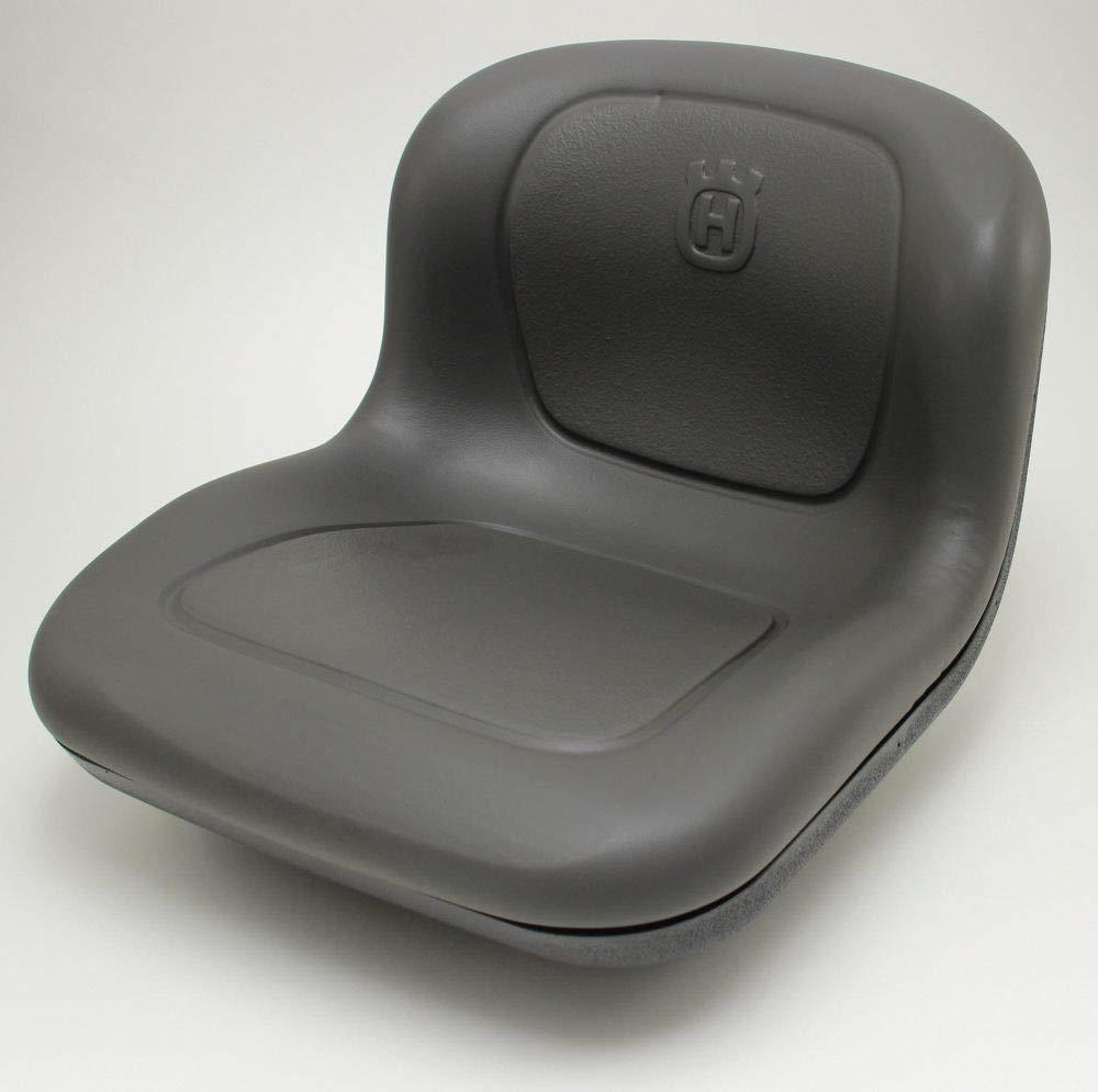 Husqvarna 439822 Lawn Tractor Seat Genuine Original Equipment Manufacturer (OEM) part Gray