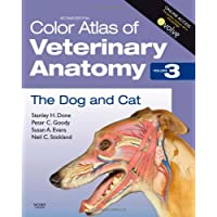 Color Atlas of Veterinary Anatomy, Volume 3, The Dog and Cat: The Dog & Cat: 03