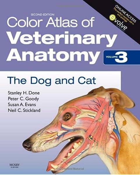 - Color Atlas Of Veterinary Anatomy, Volume 3, The Dog And Cat:  9780723434153: Medicine & Health Science Books @ Amazon.com