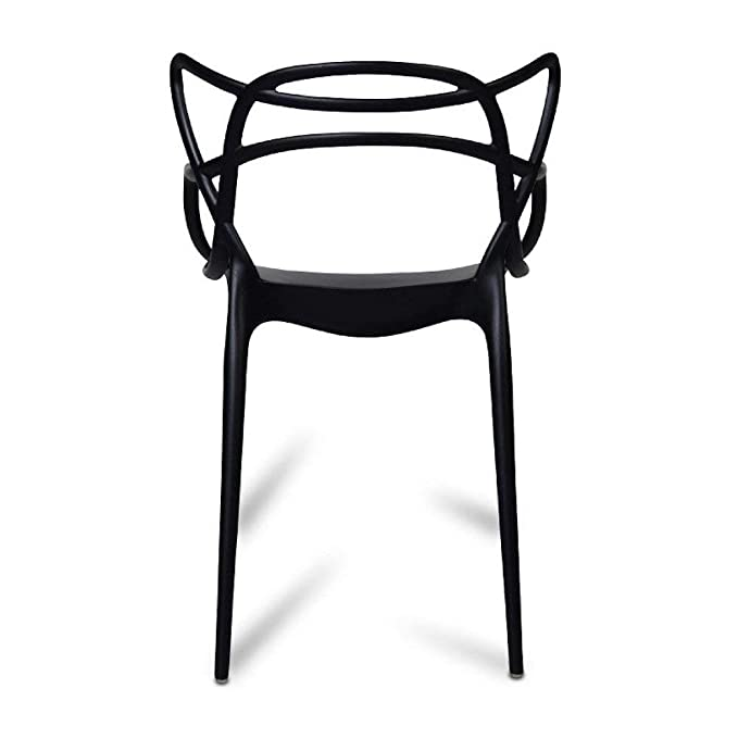 chairs4you Silla Negra Inspirada en Master - Escritorio ...