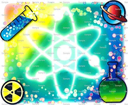 1/2 Sheet - Science Atom Birthday - Edible Cake/Cupcake Party Topper!!!