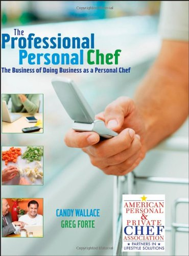 personal chef book - 2