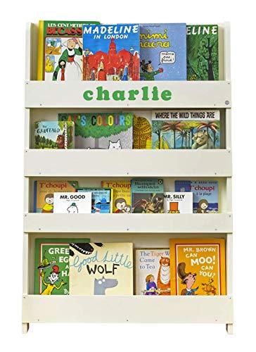 Amazon.de: Tidy Books ® - Bücherregal Kinder | Cremeweiß ...