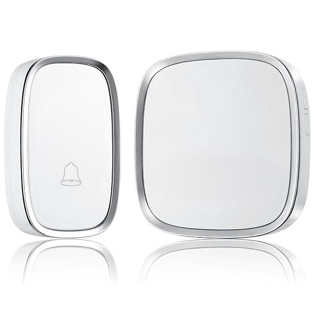 35 opinioni per Refoss portatile Kit Wireless Campanello- Campanello moderna con 36 extra Chimes