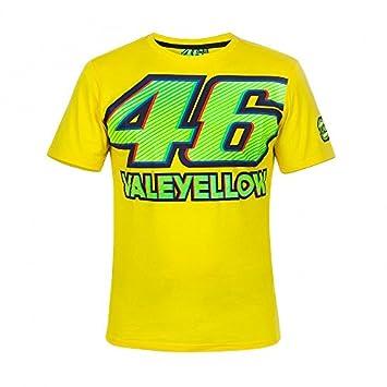 Camiseta Valentino Rossi Valeyellow 46, Moto GP, Nuevo 2018. (S)