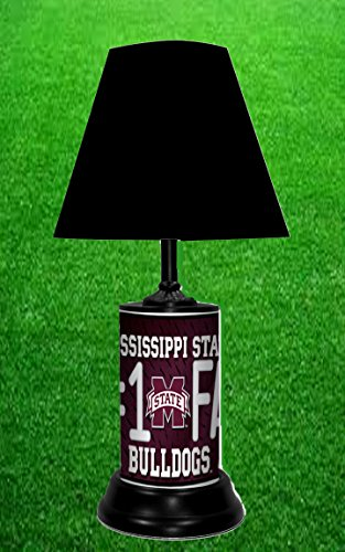MISSISSIPPI STATE BULLDOGS NCAA LAMP - BY TAGZ SPORTS