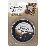 DecoArt Metallic Lustre Wax, 1-Ounce, Black Shimmer