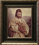 jesus picture - Framed Picture of Jesus, Lost Lamb By Del Parson