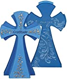 Angelstar 73154 Gratitude Gem Series Jewels of Faith Cross Figurine by Angelstar