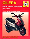 Gilera Runner, DNA, Ice and Stalker Scooters Service and Repair Manual: 1997 to 2004 (Haynes Service and Repair Manuals) by Phil Mather (2005-01-14)