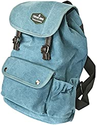 Classic Canvas Backpack for Hiking Camping Backpacking Trekking - Cedar Gear PRIME Series - Daypacks Computers...