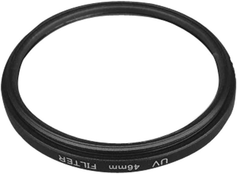 LEDMOMO UV Filter Lens Filter 46MM Lens Filter Professional Optical Ultraviolet Lens Filter Black Frame