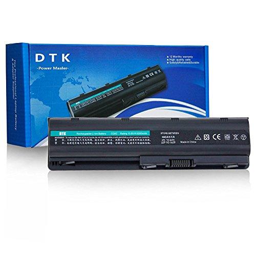 Dtk® Ultra Hochleistung Notebook Laptop Batterie Li-ion Akku for Hp COMPAQ G32 G42 G42t G56 G62 G72 G4 G6 G6t G7 ; Hp Presario Cq32 Cq42 Cq43 Cq430 Cq56 Cq62 Cq630 Cq72 ; Envy 15 , Envy17 ; Hp Pavilion Dm4 Dv3-4000 Dv5-2000 Dv6-3000 Dv6-6000 Dv7-4000 Dv7-6000 Series; 2000 430 431 435 436 630 631 635 636 Notebook Pc Fits Mu06 Mu09 593553-001 593554-001 Wd548aa Wd549aa Wd548aa Hstnn-lb0w 636631-001 593550-001 Notebook Battery 6-Zellen [10.8v 5200mah]