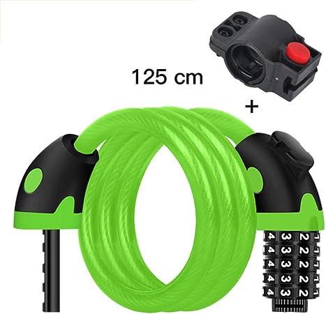 Bicycle Locks Black Digit Codes Mountain Road Bike  Anti-theft Combination Lock^