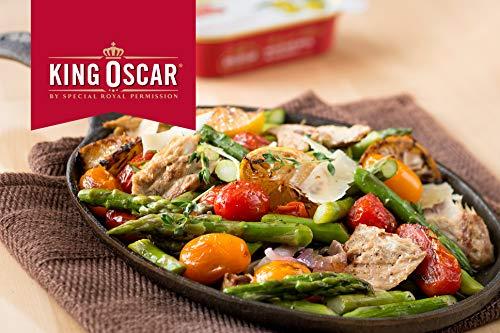 King Oscar Skinless & Boneless Mackerel Fillets in Olive Oil, 4.05 Ounce (Pack of 12)