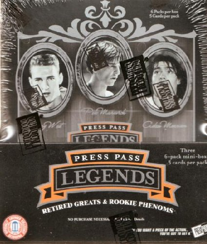 2006 07 Press Pass Legends Basketball Unopened Hobby Box