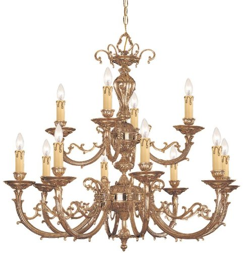 Crystorama 489-OB Traditional Eight Light Chandelier from Etta collection in (Etta Collection)