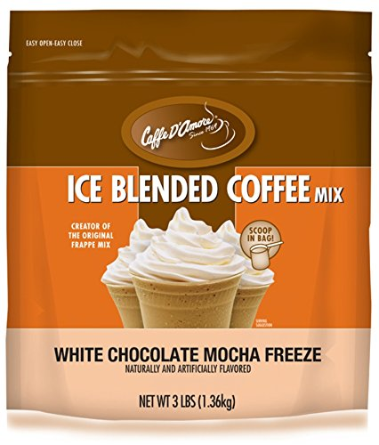 Jet Mocha, White Chocolate, 3 Pound