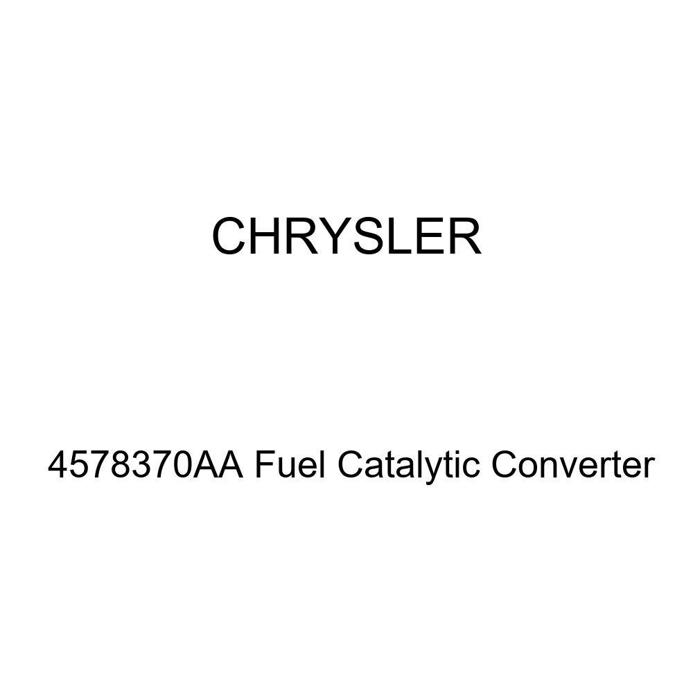 Genuine Chrysler 4578370AA Fuel Catalytic Converter