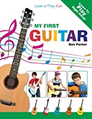 New - from Amazon #1 best-selling music author Ben Parker ! This book is the perfect introduction to the Guitar for kids of all ages ! With no sheet music to follow, kids can easily follow the clear and simple diagrams and photos to learn the...