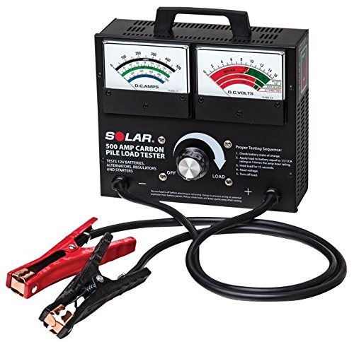 Clore Automotive 1874 500 Amp Carbon Pile Battery Load Tester (Clore Battery Tester)