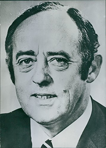 Vintage photo of L. R. Johnson, an Australian Politician and Minister for Housing. A former Union organizer and shop owner; he first became a member of Parliament in 1955.